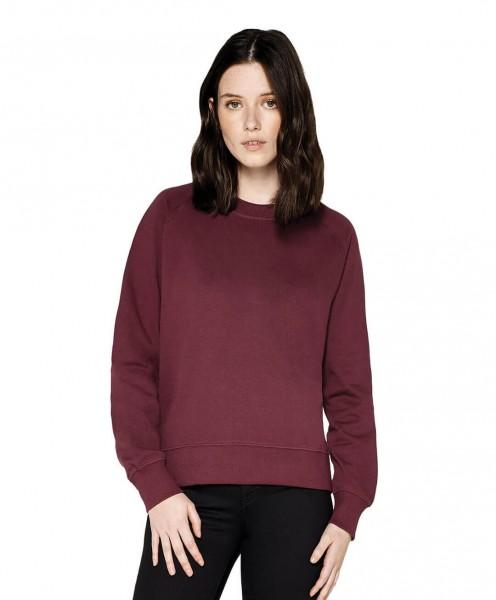Damen Pullover mit Reglanärmeln