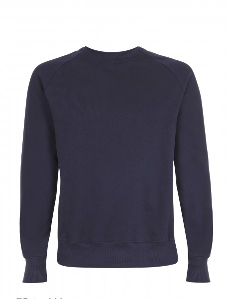 Raglan Sweatshirt, navy blue, front