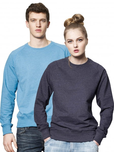Melierter Recycelter Sweatshirt