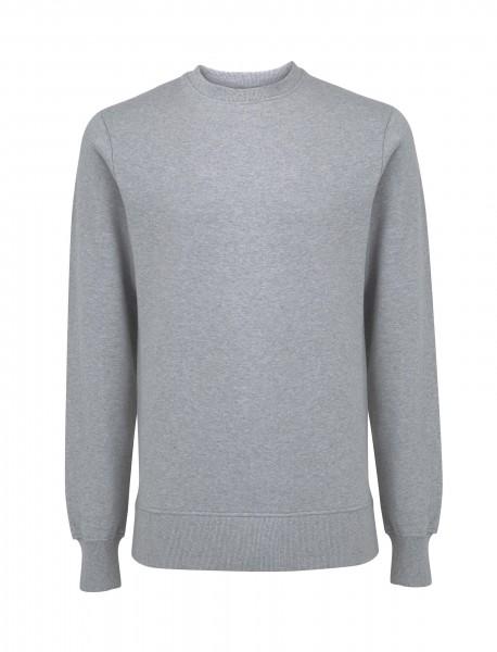 Unisex Bio Sweatshirt, melange grey