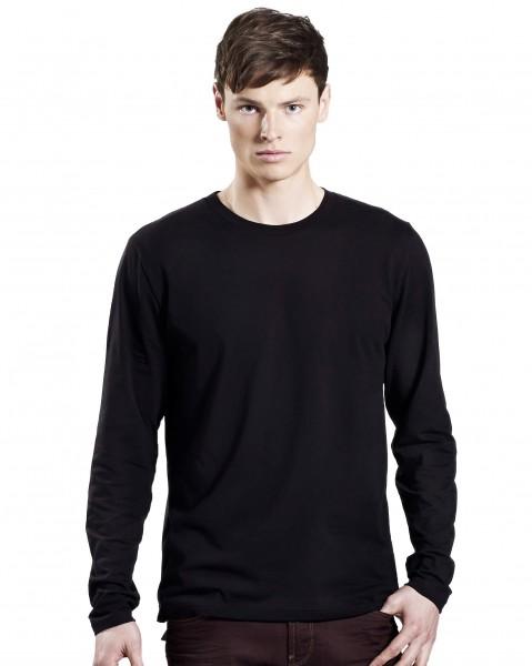 Longsleeve T-Shirt, schwarz