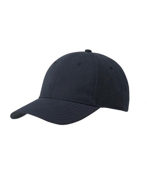 Baseballkappe aus Bio-Baumwolle, navy blue